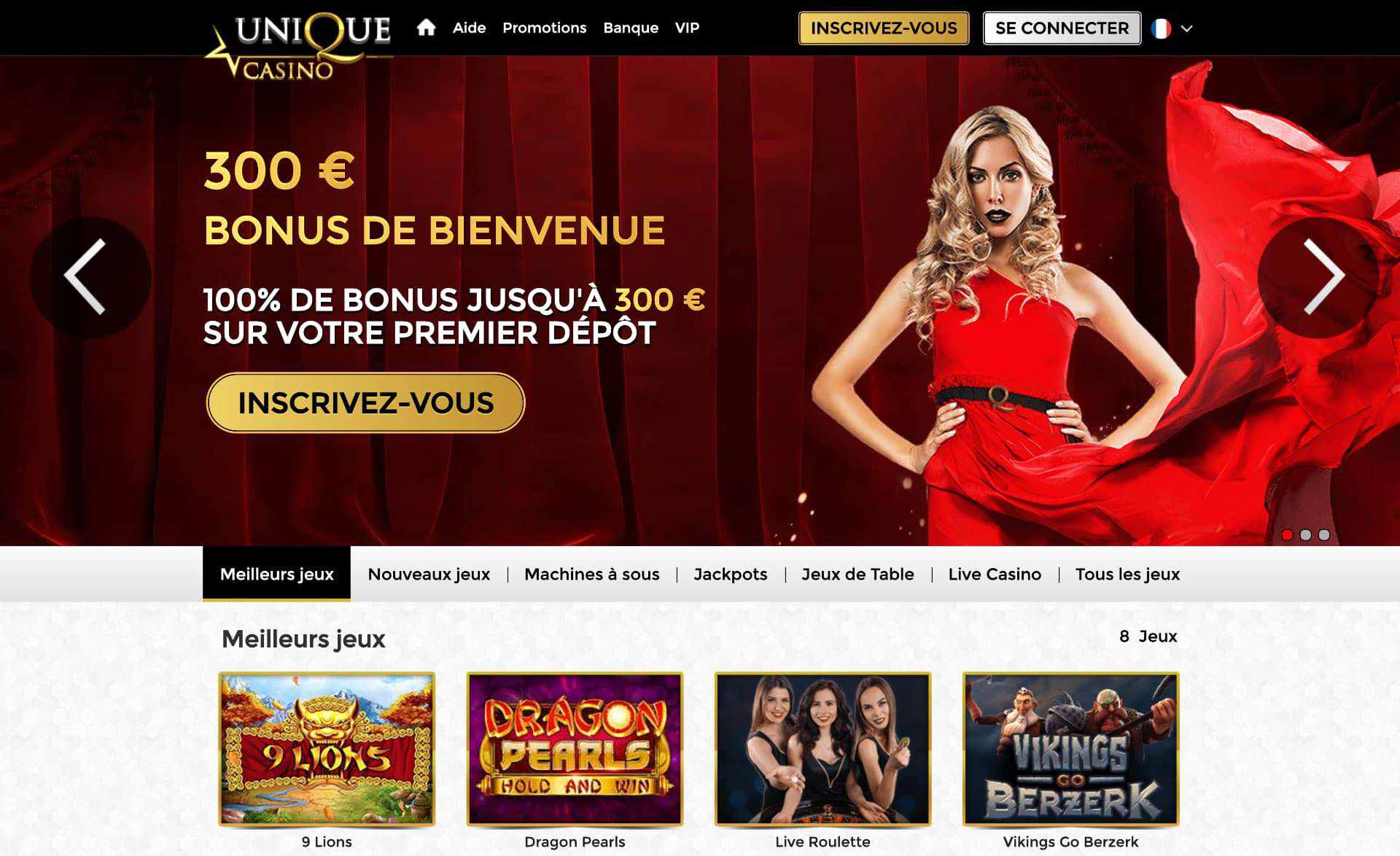 unique casino france